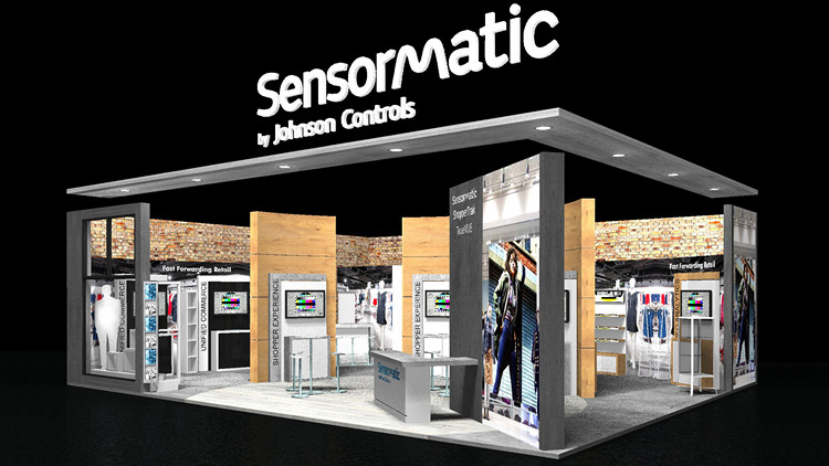 EuroShop 2020 - Sensormatic Booth